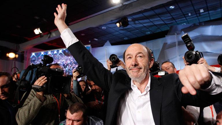 Rubalcaba, nuevo Secretario General del PSOE