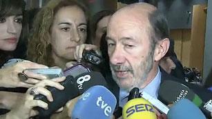 """Rubalcaba dice que será el Supremo quien tenga la """"última palabra"""" sobre el caso Faisán"""