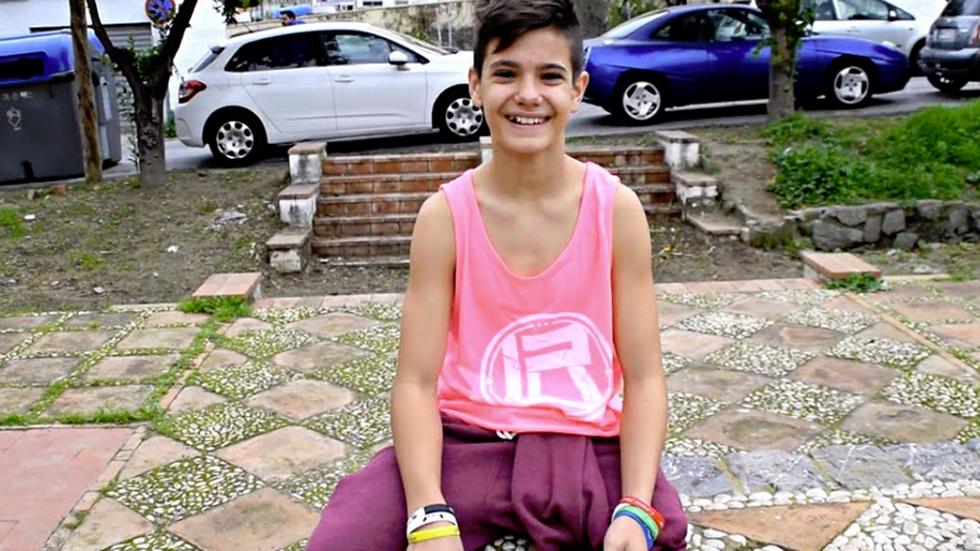 La mañana - Tiene 12 años, una sola pierna y no conoce límites