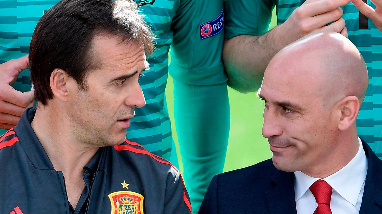 """Rubiales destituye a Lopetegui: """"Nos hemos visto obligados a tomar esta decisión"""""""
