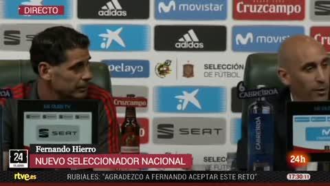 """Rubiales: """"Los jugadores han cerrado filas en torno a Hierro"""""""