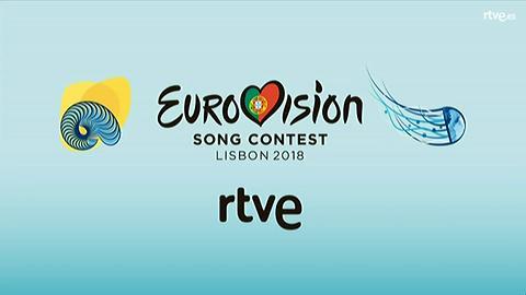 Eurovisión 2018 - Primera rueda de prensa de Alfred y Amaia como representantes de España para Eurovisión