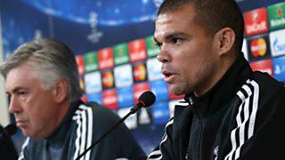Champions League - Rueda de prensa del Real Madrid