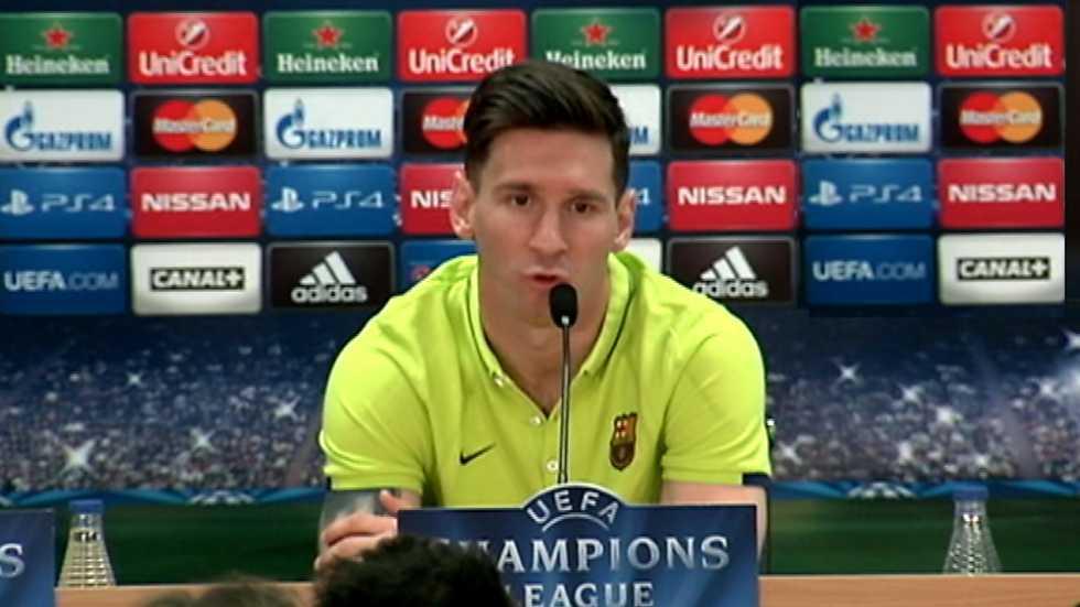 Champions League - Rueda de prensa FC. Barcelona