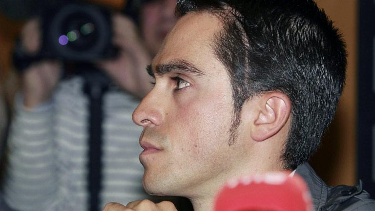 Rueda de prensa íntegra de Alberto Contador