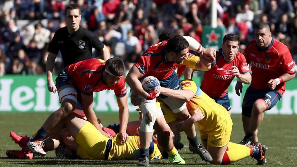 Campeonato de Europa Masculino: España - Rumania