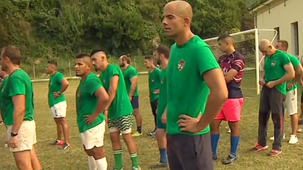 El rugby cruza los barrotes de la cárcel