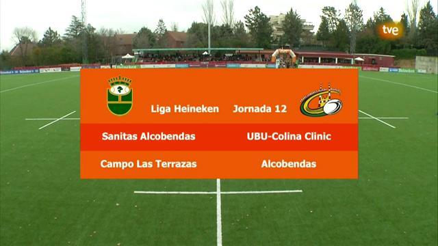 12ª jornada: Alcobendas Rugby - Aparejadores Burgos