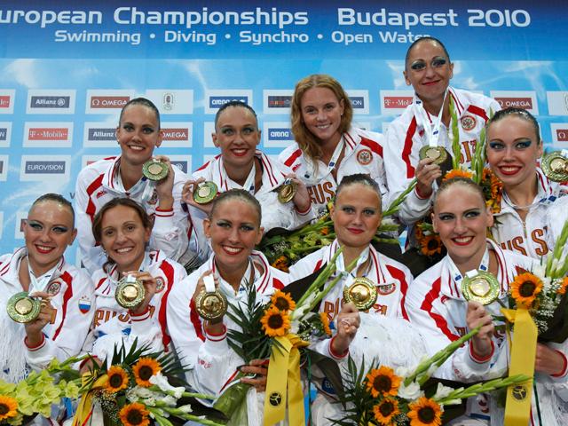 Oro para Rusia en 'sincro' por equipos