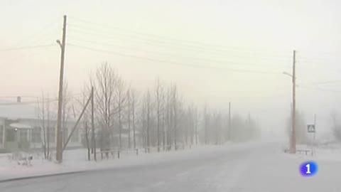 Rusia sufre una ola de frío extremo, con temperatura de hasta 65 grados bajo cero