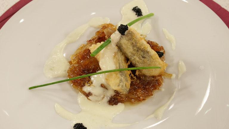 Receta de bacalao rebozado for Cocinar cocochas de bacalao