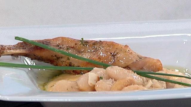 Crema de zanahoria y judiones for Cocinar zanahorias