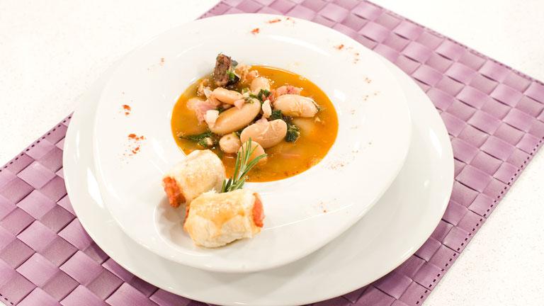 receta de judiones con lac n al piment n y delicias de
