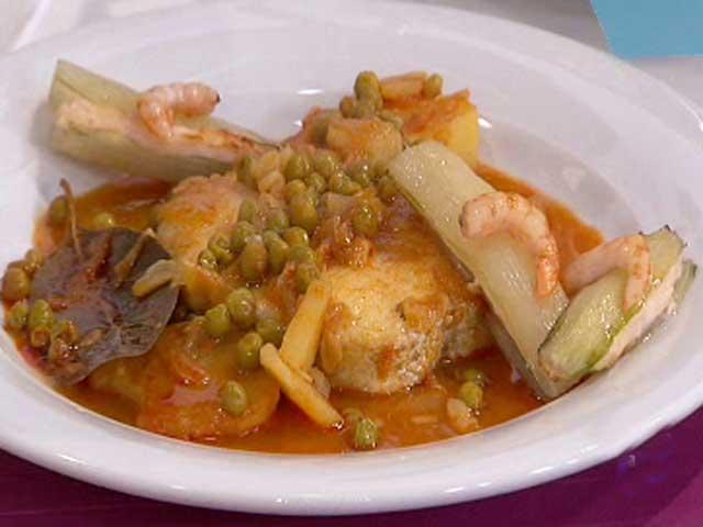 Merluza en salsa de piment n y patatas 12 11 10 for Cocinar repollo con patatas