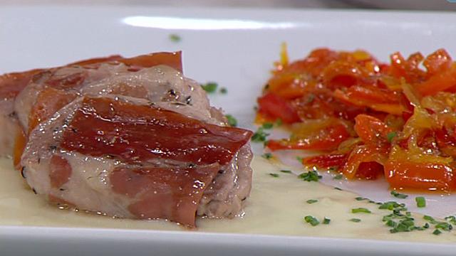 solomillo de cerdo con verduras al caramelo 08 09 11 On cocinar solomillo cerdo