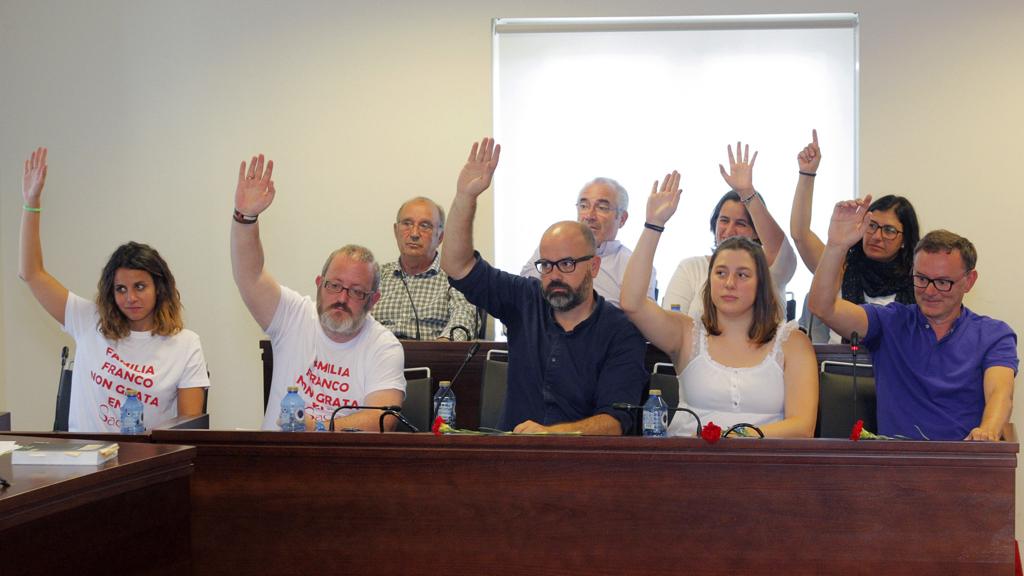 "Sada declara ""persona non grata a la familia"" de Franco"