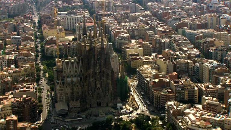 España a ras de cielo - La Sagrada Familia