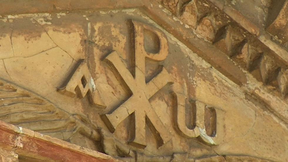 Salen a la luz algunos frescos de las catacumbas romanas de Santa Domitila en Roma