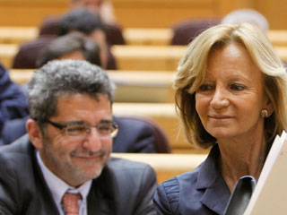 Ver vídeo  'Salgado rechaza las propuestas de Bruselas para reducir cotizaciones sociales'