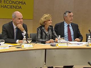 Ver vídeo 'Salgado sostiene que se hacen las reformas comprometidas en el plazo previsto'