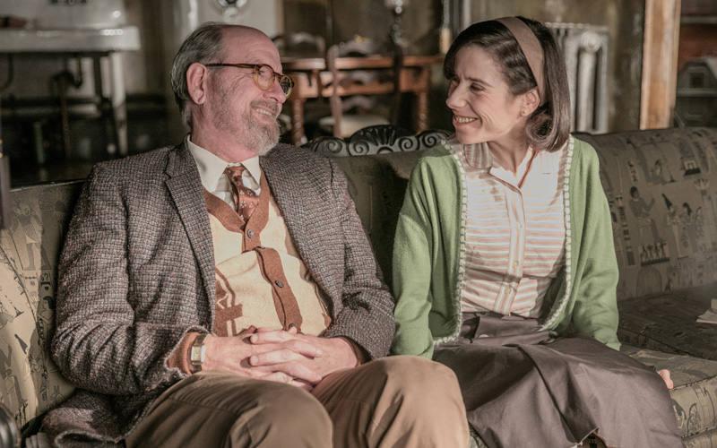 Sally Hawkins y Richard Jenkins
