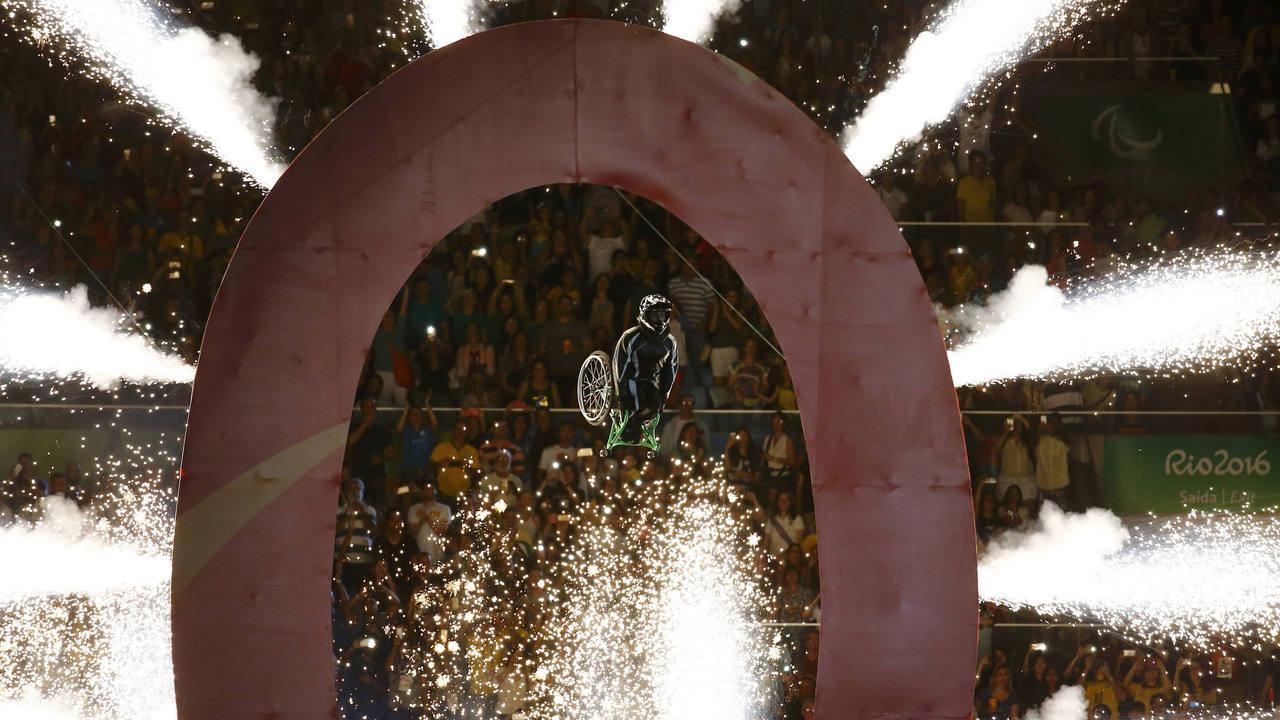 Salto acrobático con el que dio comienzo Río 2016