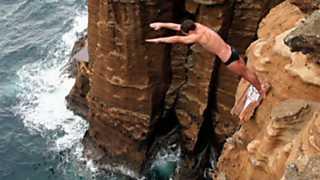 Saltos de acantilados - Red Bull Cliff Diving. Prueba Azores