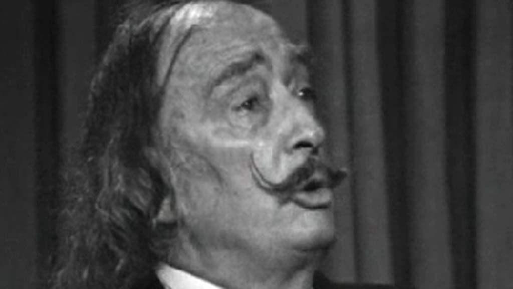 Salvador Dalí en 'A fondo' (1977)