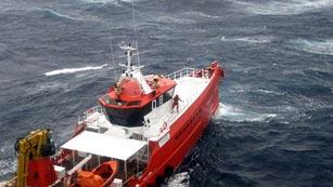 Así trabaja Salvamento Marítimo frente a la serie de borrascas en Galicia