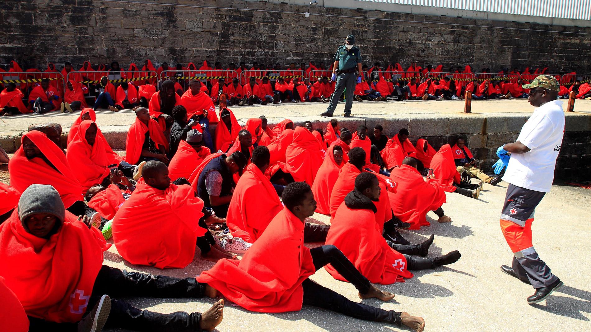 Salvamento Marítimo rescata a 769 inmigrantes