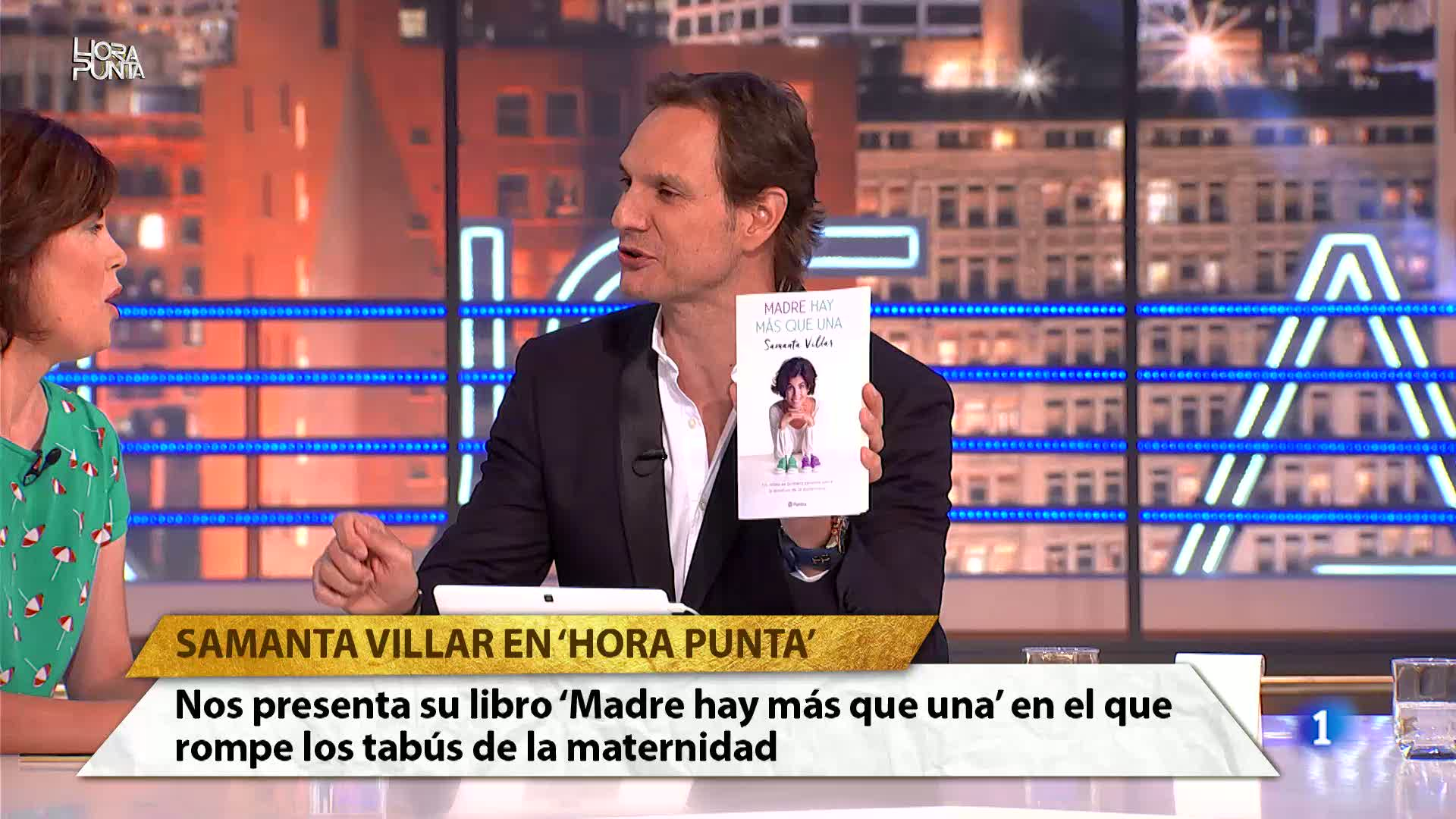 """Hora Punta - er madre es un sacrificio descomunal y de por vida"""". Samanta Villar nos presenta su nuevo libro """"Madre hay más que una"""""""