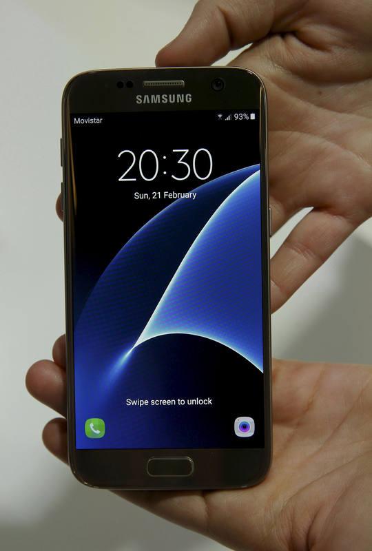 El Samsung Galaxy S7 tiene una pantalla de 5.1 pulgadas.