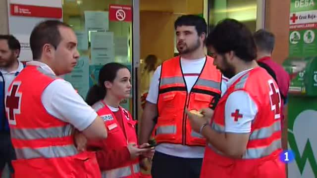 San Fermín 2018 | Más de cien voluntarios de Cruz Roja cuidan de los corredores