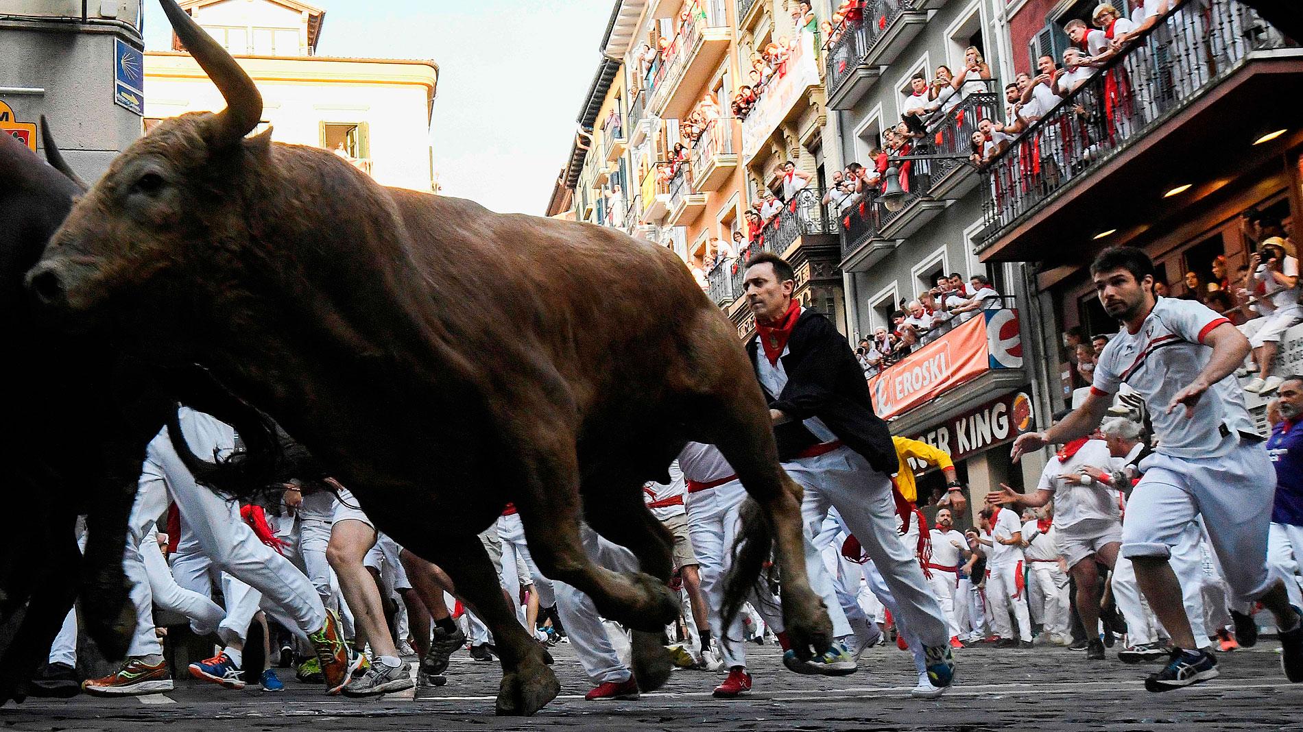 San Fermín | Un cuarto encierro marcado por la velocidad
