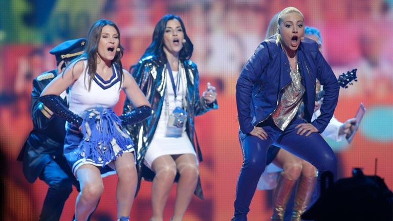San Marino Eurovisión 2012 - Valentina Monetta - 1ª semifinal