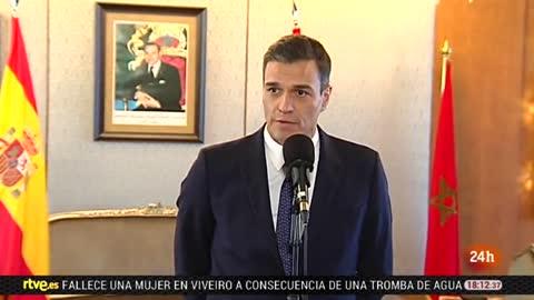 Sánchez aborda con Mohamed VI la reunión de alto nivel entre España y Marruecos en 2019