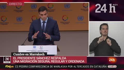 Sánchez anuncia la creación de un Plan de Ciudadanía y un fondo para la integración de inmigrantes