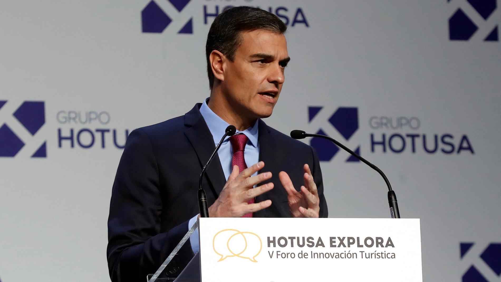 Sánchez apuesta por el turismo sostenible