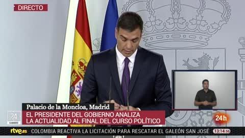 """Sánchez asegura que Franco será exhumado """"muy pronto"""" cuando se tengan las """"garantias jurídicas"""" para hacerlo"""