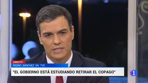 """Sánchez asegura que si el Congreso no pone en marcha el concurso para renovar RTVE """"el Gobierno no va a mirar para otro lado"""""""