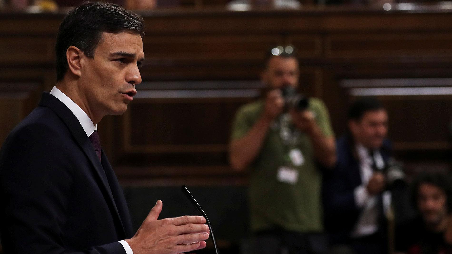 """Sánchez: La exhumación de los restos de Franco se producirá en """"muy breve espacio de tiempo"""""""