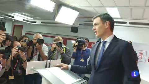 """Sánchez pide el apoyo de """"todos"""" para formar un gobierno del PSOE"""