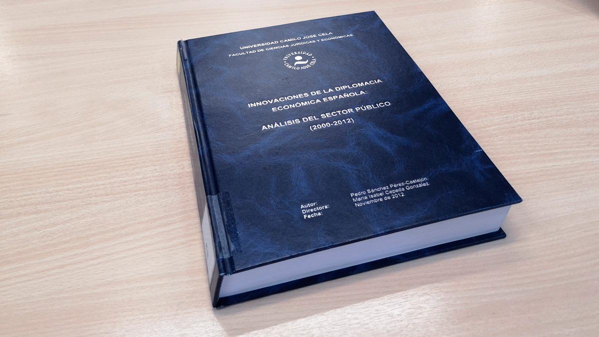 Sánchez publica su tesis en internet tras superar el examen de dos programas antiplagio