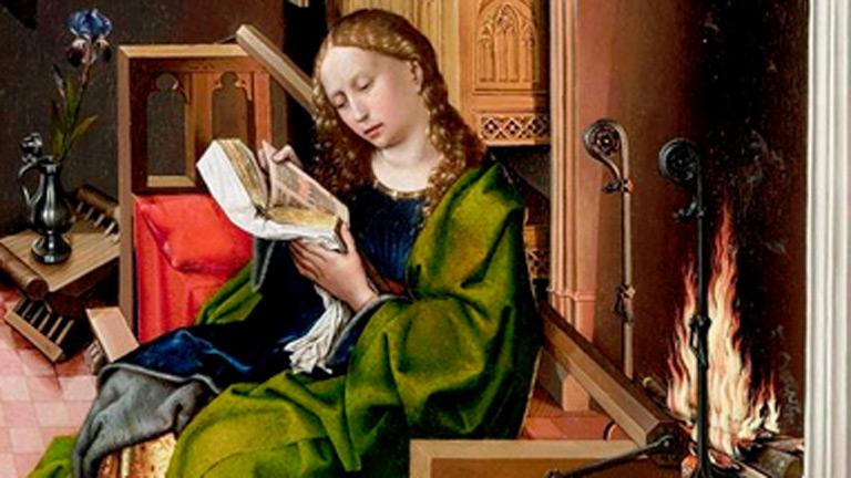 Mirar un cuadro - Santa Bárbara (Maestro de Flemalle)