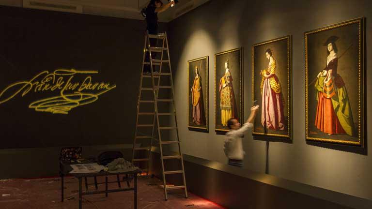 Las santas de Zurbarán son las protagonistas de una exposición en Sevilla