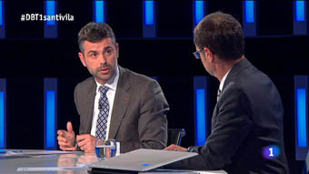 El Debat de La 1 - Santi Vila