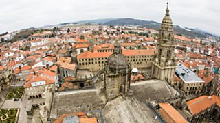 Ciudades españolas Patrimonio de la Humanidad - Santiago de Compostela