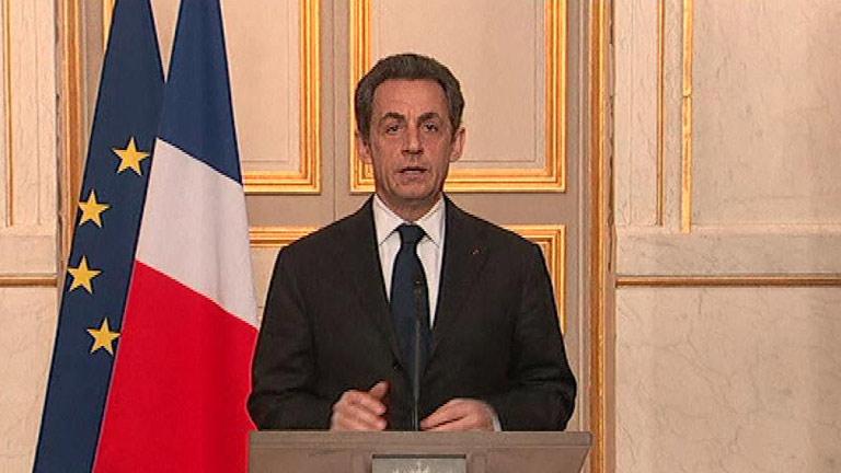 """Sarkozy: """"Debemos estar unidos y no ceder a ningún tipo de venganza"""""""