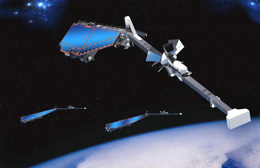 Satélites para analizar el geomagnetismo de la Tierra
