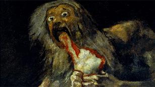 Mirar un cuadro - Saturno devorando a su hijo (Goya)